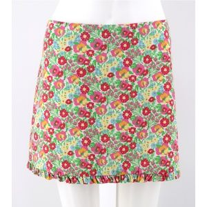 Lilly Pulitzer Garden by the Sea Ruffle Mini Skirt